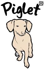 Piglet, the deaf blind pink puppy